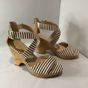 Attention Wedge Sandals